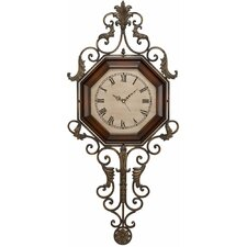 "39"" Wrought Iron Wall Clock"