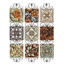 Colorful Wall Decor (Set of 3)