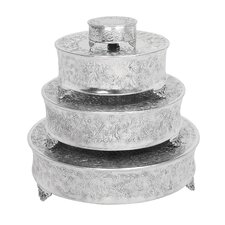 <strong>Aspire</strong> Round Cake Stands (Set of 4)