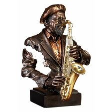 Saxaphone Player Figurine