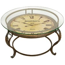 Coffee Table with Clock