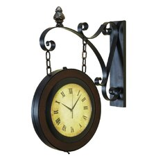 "22"" Train Station Wall Clock"