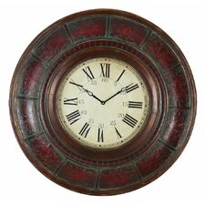 "Oversized 36"" Brick Wall Clock"