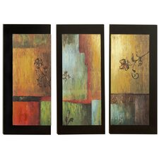 Modern Wall Plaque Set (Set of 3)