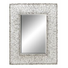 "<strong>Aspire</strong> 42"" H x 32"" W Artsy Wall Mirror"
