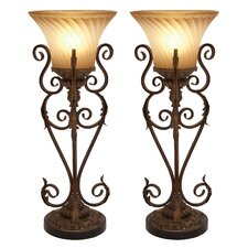 Lisette Torchiere Table Lamp (Set of 2) (Set of 2)
