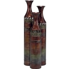 Slender 3 Piece Floor Vase Set