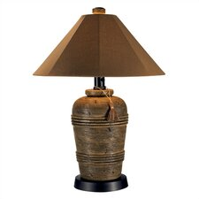 Canyon Outdoor Table Lamp with Sunbrella® Shade