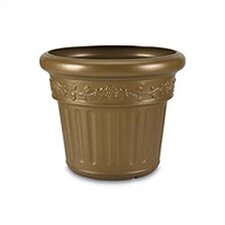 <strong>Patio Living Concepts</strong> Decorative Round Planter