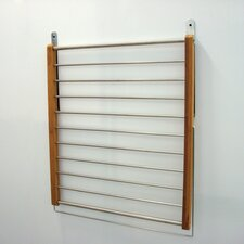 Fold Away Bamboo Clothes Rack