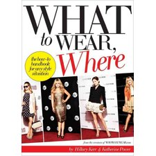 What to Wear, Where; The How-to Handbook for Any Style Situation