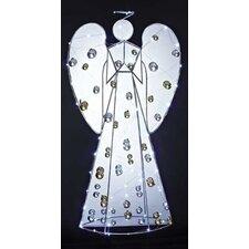 Angel LED Figurine with Ornament Yard Art