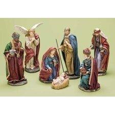 7 Piece Nativity Figurine Set