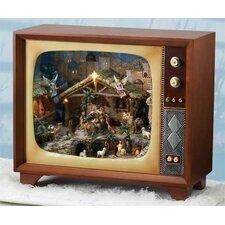 Mus LED Large Nativity TV Figurine
