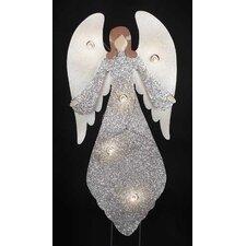 Angel Figurine with C7 5 Lights Yard