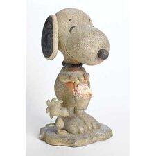 Solar LED Snoopy Statuary Figurine