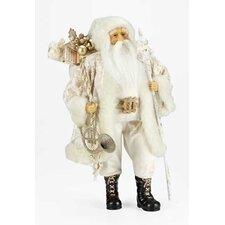 Damask Santa Figurine