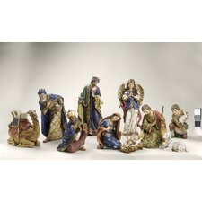 10 Piece Nativity Figurine Set