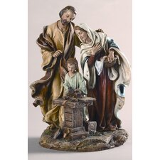 Holy Family in Carpenter Shop Figurine
