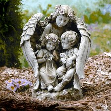 <strong>Roman, Inc.</strong> Angel with Children Statue
