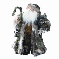 Mountain Standing Santa Figurine