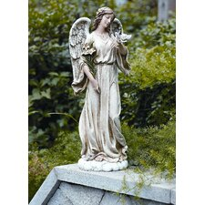 <strong>Roman, Inc.</strong> Angel with Dove Statue