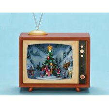 "10"" x 8"" Rotating Musical TV Box"