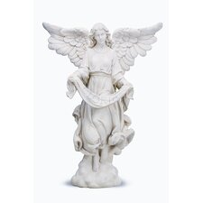 <strong>Roman, Inc.</strong> Angel Figurine in Ivory