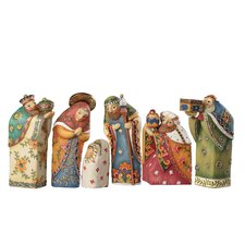 6 Piece Nesting Nativity Set