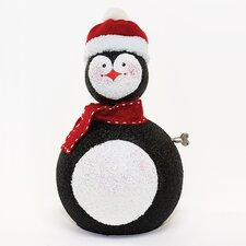 Musical Penguin with Moving Head Figurine