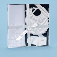 <strong>Roman, Inc.</strong> 3 Piece Baptism Gift Set with Bib