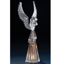 Acrylic Angel Figurine with LED Lite