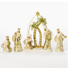 6 Piece Saint Nativity Figurine Set