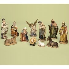 11 Piece Nativity Set