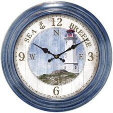 Decorative Home Lighthouse Dial Wall Clock