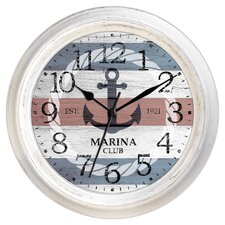 "Decorative Home 18"" Nautical Anchor Wall Clock"