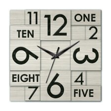 <strong>Ashton Sutton</strong> Modern Home Multi Layer Wall Clock