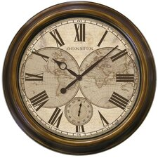 "<strong>Ashton Sutton</strong> Classic 18"" Wall Clock"