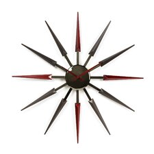 "Oversized 24"" Mid Century Retro Wall Clock"