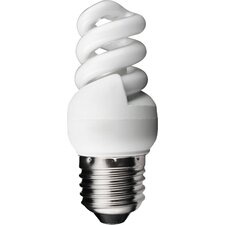 7W Warm White 240V 2700K CFL Light Bulb (Set of 5)