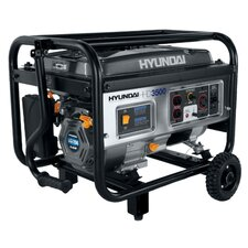 <strong>Hyundai Power Equipment</strong> 3,500 Watt Portable Heavy Duty Power Generator