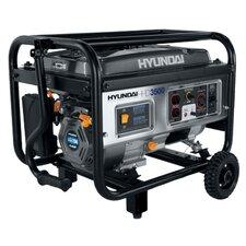 Home Series Portable Heavy Duty Power 3,500 Watt Gasoline Generator with Recoil Start