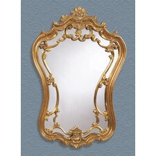 Decorative Rococo Style Antique Gold Mirror