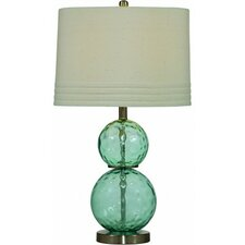 "Barika 31"" H Table Lamp with Drum Shade"