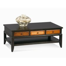 Posh Rectangle Coffee Table with Drawers