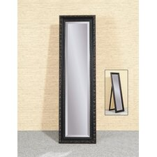 <strong>Bassett Mirror</strong> Carlotta Cheval - Black w/Rouge Rub