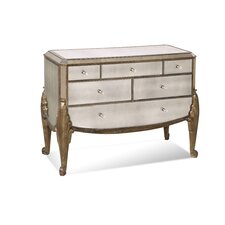 <strong>Bassett Mirror</strong> Collette 6 Drawer Hall Chest