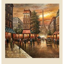 Paris Nights Original Painting on Canvas