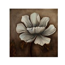 Translucent Flower Canvas