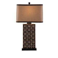 "Lakota 35"" H Table Lamp with Drum Shade"